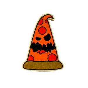 Pepperoni Pete Pizza Wood Badge