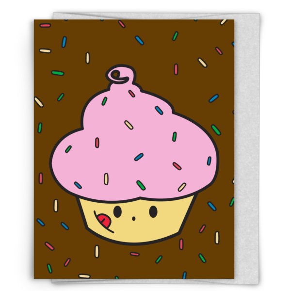 Cupster Cupcake Birthday Card