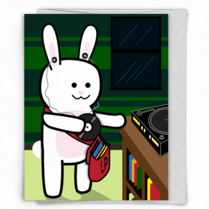 LP the Bunny Card